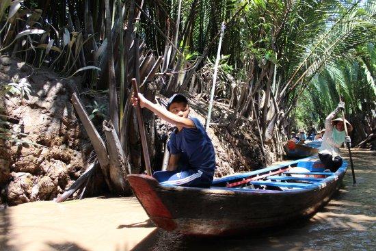 Ben Tre Province, เวียดนาม: River boats tour