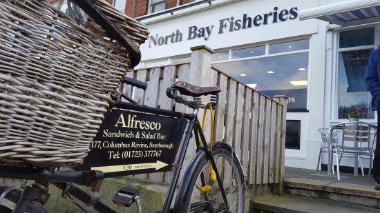 North Bay Fisheries Scarborough: 20170405_123630_large.jpg