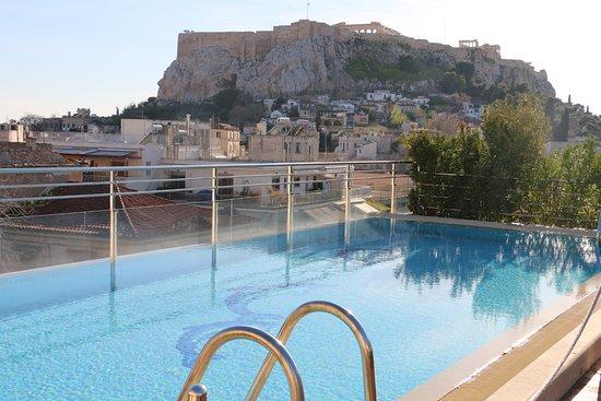 Electra Palace Athens: view of Acropolis