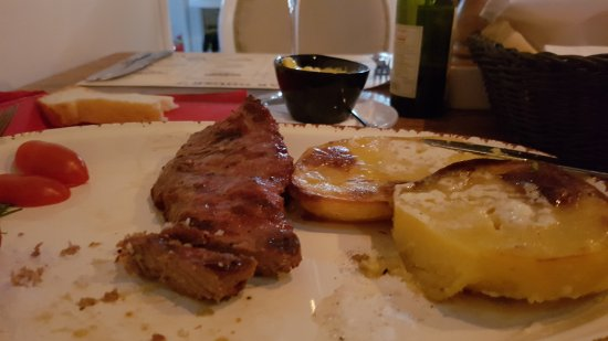 Steakhouse Grill, Fish & Meat: Ribeye steak, my favorite one.. with AMAZING potatos. Must try.