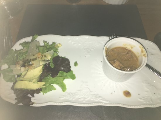 Balgowan, South Africa: Chicken livers in amazing sauce starter