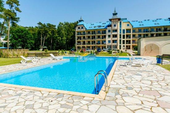 Apartaments Las Sosnowy Blue Mare Łukecin