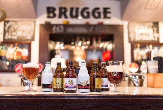 Бельгийский Гастрономический Паб Брюгге