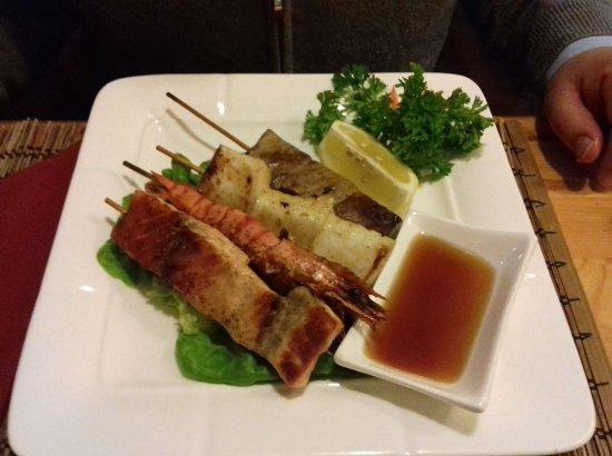 Ristorante Giapponese Genkai : grigliata di pesce