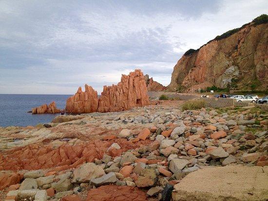 Cerdeña, Italia: Arbatax (Og) Rocce rosse