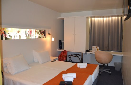Star Inn Porto Smart Choice Hotel: Это наш номер