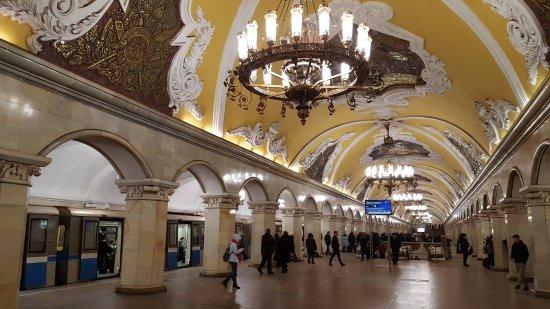 metro station moscow 3 bild von metro moskau moskau tripadvisor. Black Bedroom Furniture Sets. Home Design Ideas