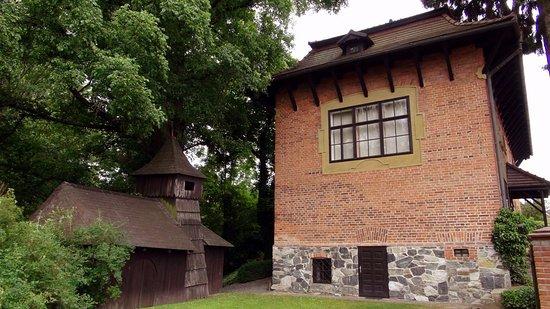 Chynov, Czech Republic: ze zahrady