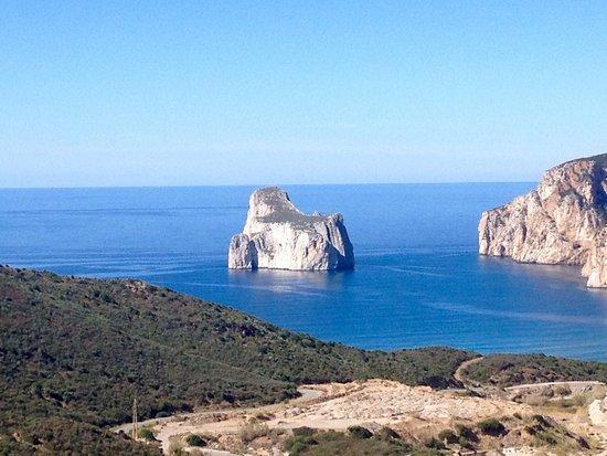 Sardinien, Italien: Concali su Terràinu (italianizzato: Pan di Zucchero) territorio di Iglesias