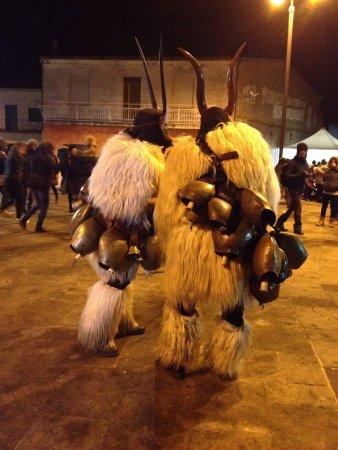 Sardinia, Italy: Boes e Merdules di Ottana (Nu)