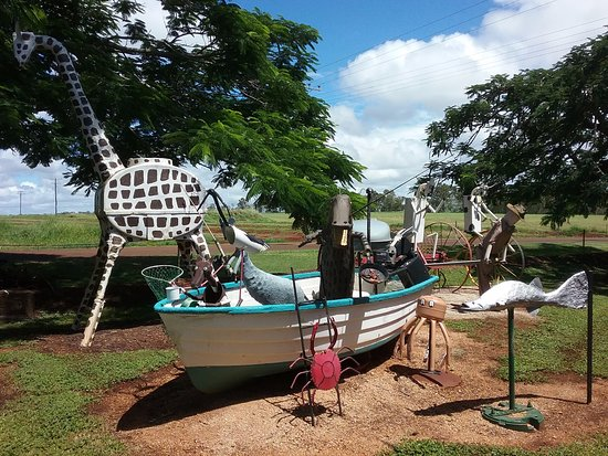 Tolga, Austrália: What's in the boat?