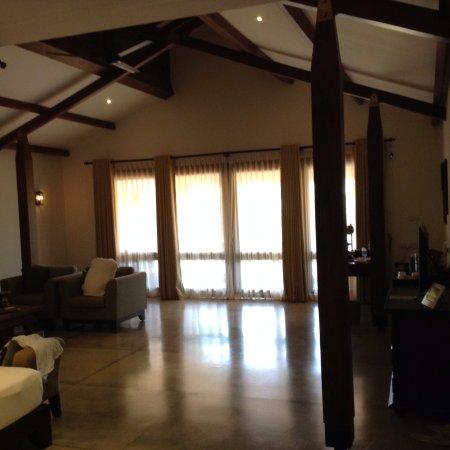 Aditya Resort main area of our suite