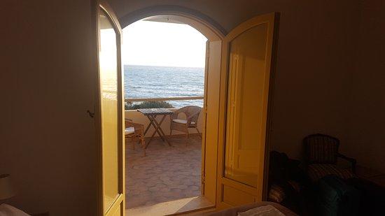 Punta Braccetto, Italy: la vista dalla camera