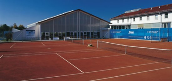 Oberhaching, Germany: Tennisplätze