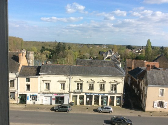 Chateau de Durtal: The view from ourroom
