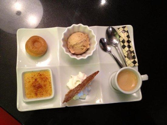 Brasserie Alsacienne La Table Gourmande : un café gourmand