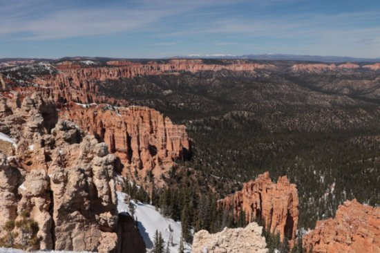 rainbow point southern end of the scenic drive bild von rainbow point bryce canyon. Black Bedroom Furniture Sets. Home Design Ideas