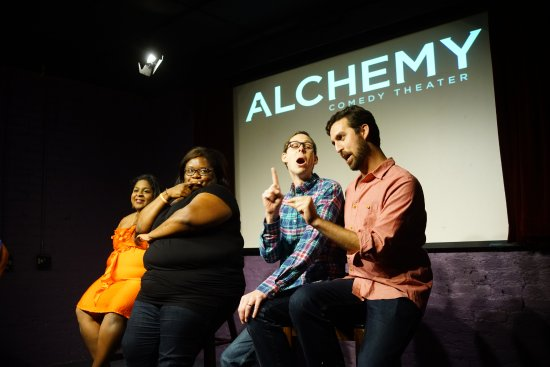 ‪Alchemy Comedy Theater‬