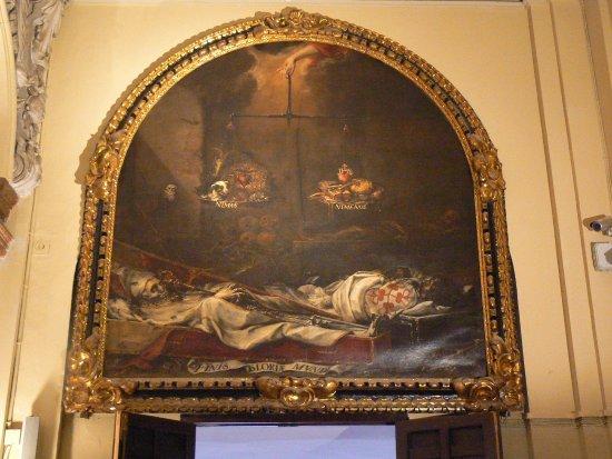Iglesia de la Caridad: One of the famous death paintings.