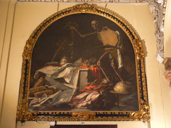 Iglesia de la Caridad: The other famous death painting.