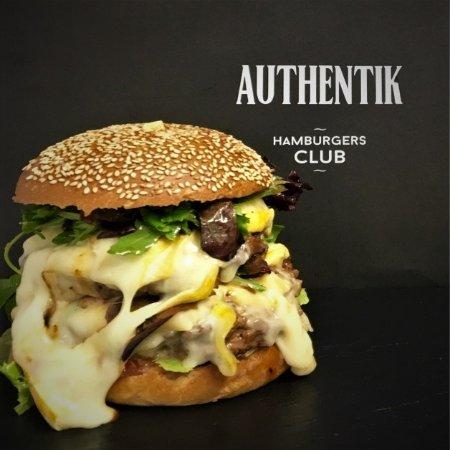 authentik hamburgers club chamb ry restaurant avis. Black Bedroom Furniture Sets. Home Design Ideas
