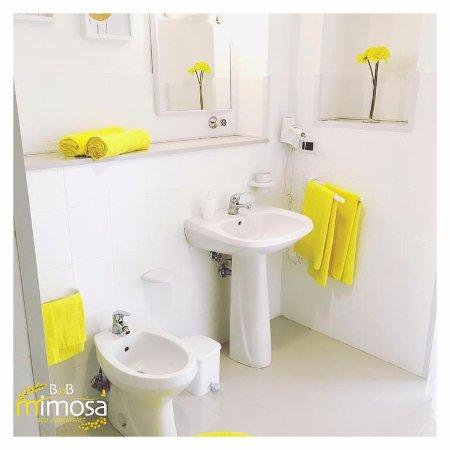 mimosa bagno con phon teli bagno giornalmente