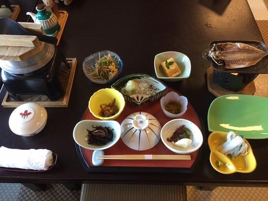 Uminoniwa: 朝食のセット