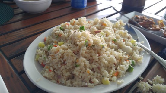 Cordova, Filippine: Tuna Fried Rice
