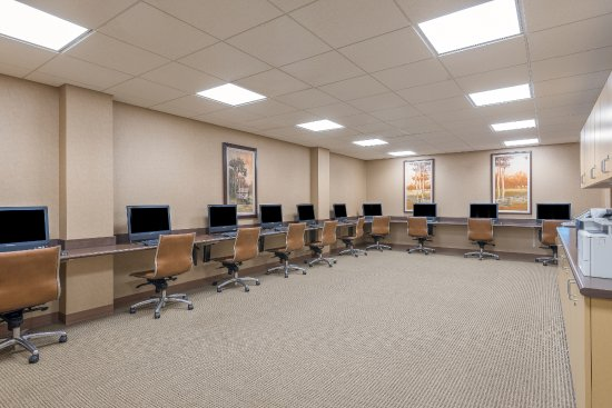 Fort Lee, VA: Business Center with Printers
