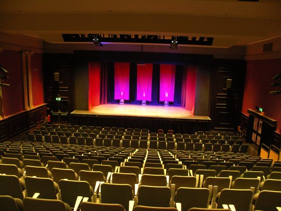 Burnley, UK: Auditorium with all seats out