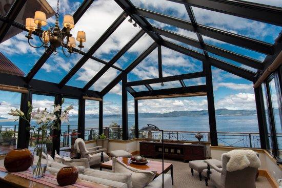 Los cauquenes resort spa hotel ushuaia argentina for Jardin de invierno loi suites