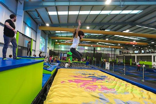 giant air bag picture of go jump in tonbridge tripadvisor