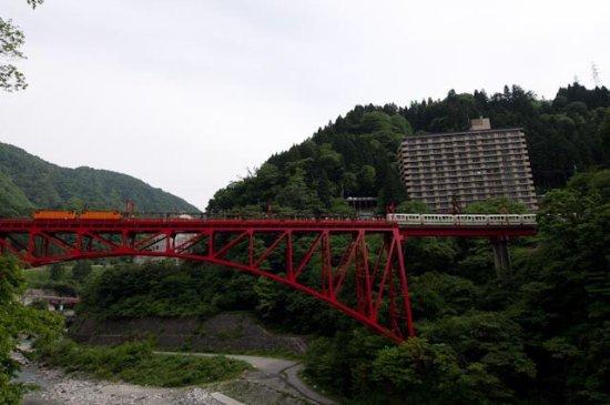 Kurobe, Japonya: トロッコ