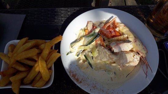La Baguernette ISNOR : Waterzoi de poissons