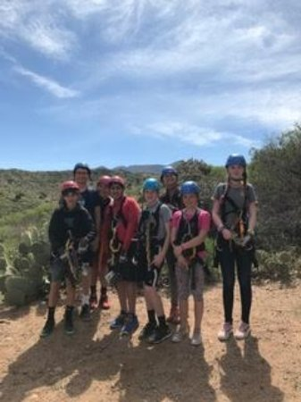 Oracle, AZ: Our student group!