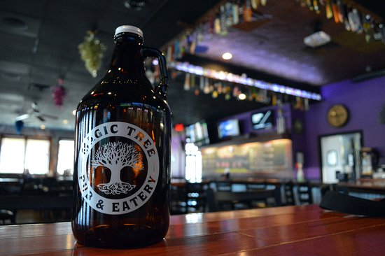 Boardman, OH: We have growlers... take home a beer you like!