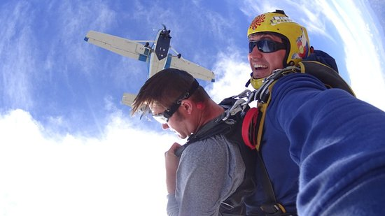 Penrose, CO: Rocky Mountain Skydiving