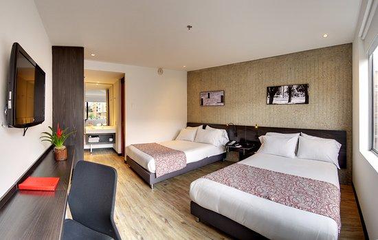 Hotel B3 Virrey: Habitación Junior Twin