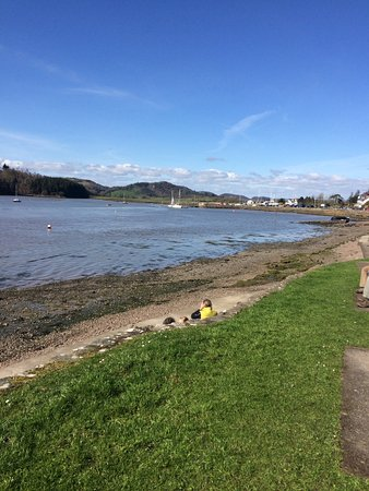 Kippford, UK : View from front