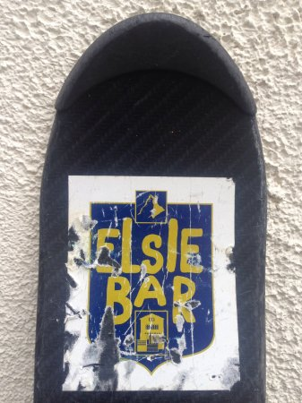 Elsie's Bar: Going going gone