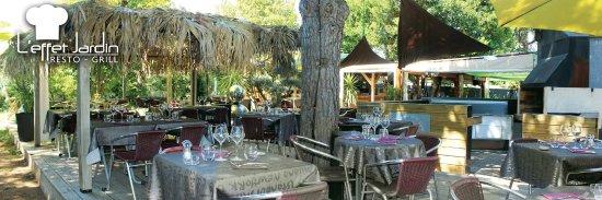 Lu0027 Effet Jardin Restaurant : La Terrasse De Lu0027effet Jardin