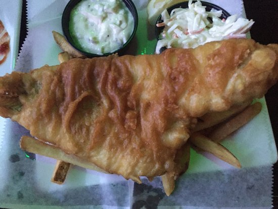 Ned Devines Faneuil Hall: Fish & chips