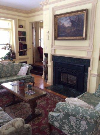 Deerwood, MN: Library Fireplace