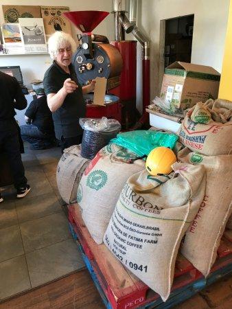 Greenport, Nowy Jork: Aldo and his coffee magic