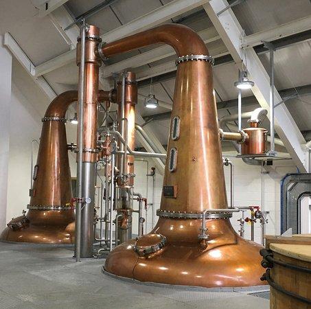 Tarbert, UK: Whisky stills