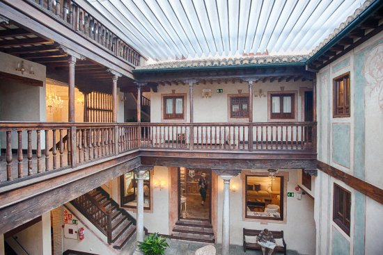 Atrium photo our top floor room hotel casa 1800 granada granada tripadvisor - Hotel casa 1800 granada ...