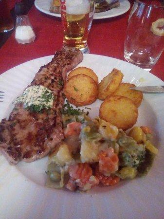 Huttenheim, France: plat du jour, viande de très bonne qualité