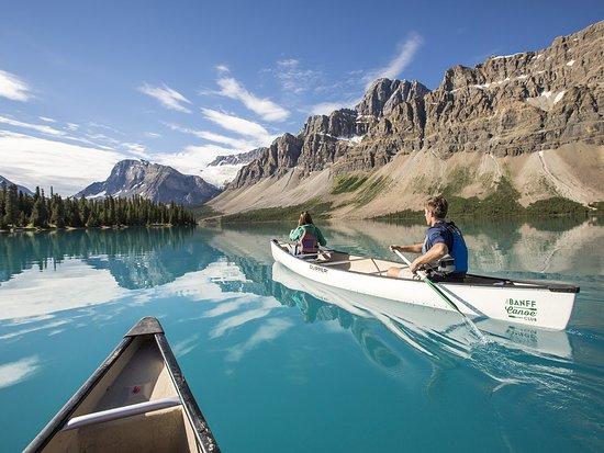 Banff National Park, Canada: Canoeing Bow Lake