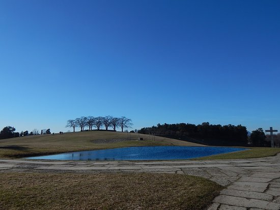 Skogskyrkogården : подъем на холм