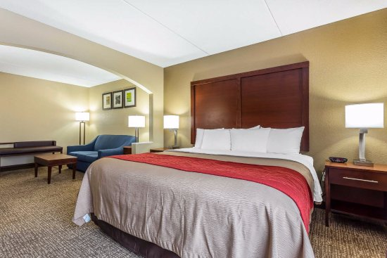 Comfort Inn & Suites: Our King Suites are fit for a, well, a king!